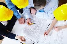 مطلوب مهندسين ومهندسات وعمال بشركه مقاولات