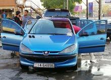 Peugeot 206 2001 For sale - Blue color