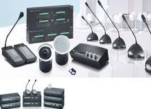 الانظمة الصوتية للمساجد والمصانع
