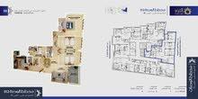 شقة فاخرة للبيع 192.01متر للبيع - مخطط الوحدة12 مبنىB