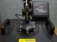 مشروع الطباعة الحرارية طابعة ايبسون L805 + مكبس حراري مع ادواته
