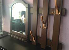 علاقة مع مرآة من خشب MDF للبيع