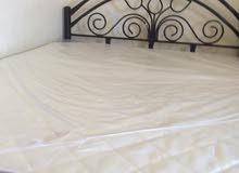 سرير 150 فى 190 مع مرتبة طبية جديدة بالكيس