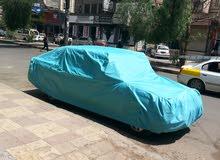 طرأبيل وأغطية سيارات. جلد وقماش