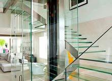 الشربجي لكافة أعمال الزجاج والستيل 0799152881