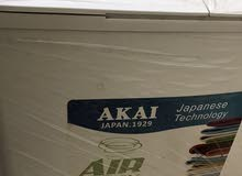 washing machine with air drier new condition akai Japan