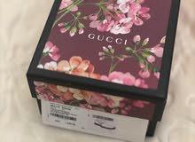 جوتي Gucci مقاس 38 أصلي اللون زهري