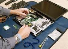 صيانة جميع أجهزة الكمبيوتر