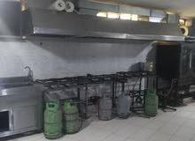 مشغل إعداد أطعمة في منطقة البيادر،