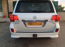 White Toyota Land Cruiser 2013 for sale