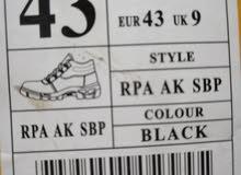 حذاء سيفتي ماركة جلد اسود جديد عدد 2 و واحد مستعمل نظيف