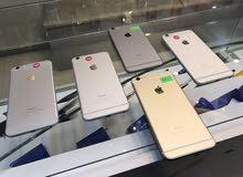 ايفون 6 بلص 16 و 64 و 128 جيجا لسعار مميزة واجهزة بحالة الوكالة لحقو العروض