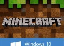 لعبة ماين كرافت Minecraft نسخة ويندوز 10