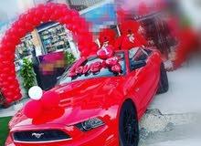 موستنغ 2013 كشف لون احمر مميزه و معدله للايجار