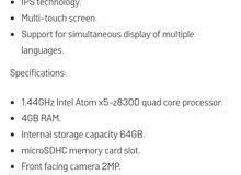 للبيع ويندوز تابلت linx بدون كيبورد, المواصفات في الصور