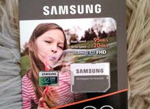 samsung. 4K 128g 64g 32g  ميموري ظفر يقبل تصوير