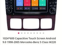 touch screen for mercedes s-class