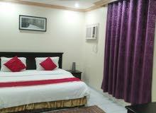 غرفة وصالة مفروش إيجار شهري شامل الكهرباء والماء