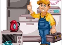صيانه ثلاجات بجميع انواعها منازل /مطاعم /محلات 0539383605
