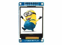 1.8'' SPI LCD Module with ST7735 Controller (128x160 px) - شاشة عرض ال سي دي للاردوينو 1.8 انش