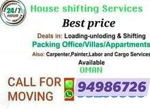 house shifting Villa shifting