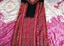 ثوب فلسطيني مطرز يدوي اصلي