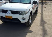White Mitsubishi Pickup 2008 for sale