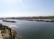 شقة على النيل بسوهاج 286م فيو من جميع الاتجاهات