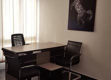 مكاتب مفروشة للأيجار