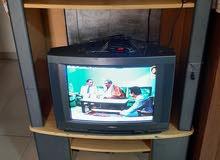 تلفزيون مع المكتبة والرسيفر 10 د