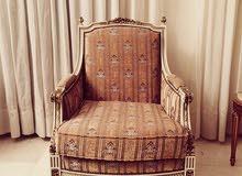 Antique Louis XVI Armchairs Saloon