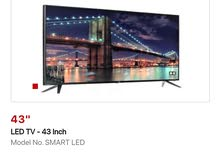 Multistar 43 Inch FHD Smart LED TV (2020) - Black . new