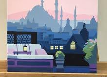 لوحه رسم لاسطنبول