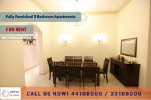 FULLY FURNISHED 3 BEDROOM APARTMENT AT BIN MAHMOUD - FOR RENT