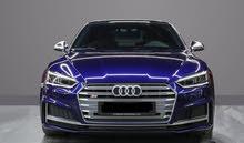 Audi S5 Blue Model 2019