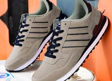 Striped Laceup Front Sneakers