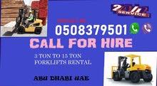 Forklifts rental abu Dhabi uae