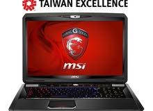 msi gt70 جهاز لابتوب للالعاب والتصميم