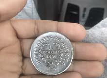 دولار امريكي قديم من 1851