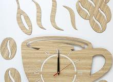 ساعات خشب جدارية
