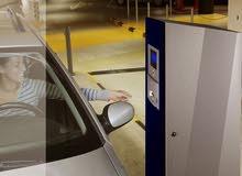 نظام دخول مواقف السيارات الجراجات بالدفع/التذكرة