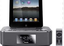 Phillips docking station for iPod/iPhone/iPad