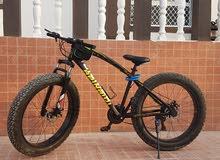 دراجة هوائية مميزه جدا للبيع صحار