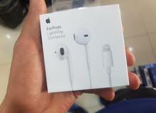 سماعات EarPods اصليات من شركه Apple