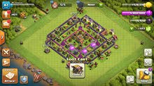 clash of clans account town hall 8
