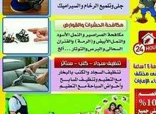 رمال الصحراء لخدمات تنظيف المباني ومكافحة الحشرات