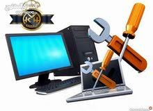 صيانة جميع اجهزة الكمبيوتر والابتوب و الطابعات وكاميرات المراقبة بجودة عالية