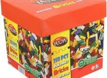 Wow Play Bricks 50 PCS – مكعبات واو بريكس 50 قطعة