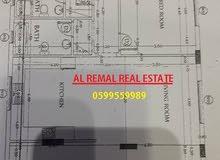 للبيع شقة 175 متر 3 اتجاهات مفتوحة عمارة جديدة/ غزة