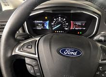 Black Ford Fusion 2018 for sale